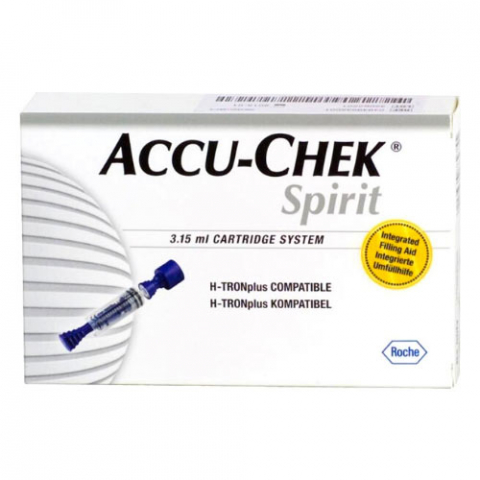 Картриджи для инсулиновой помпы Акку-Чек Спирит Комбо