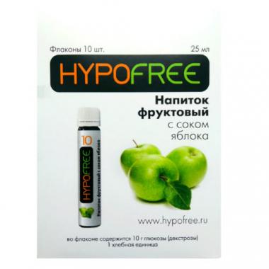 HYPOFREE Напиток фруктовый с яблочным соком №10