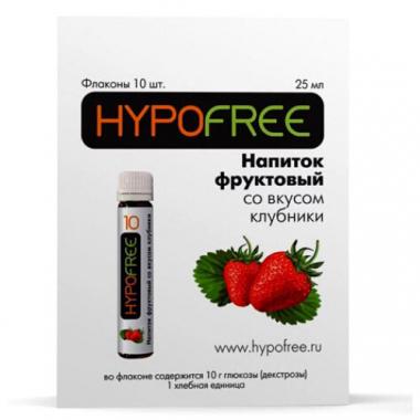 HYPOFREE Напиток фруктовый с клубничным вкусом №10