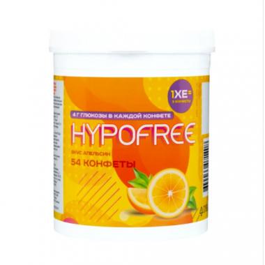 Конфеты Гипофри апельсин в тубе №54